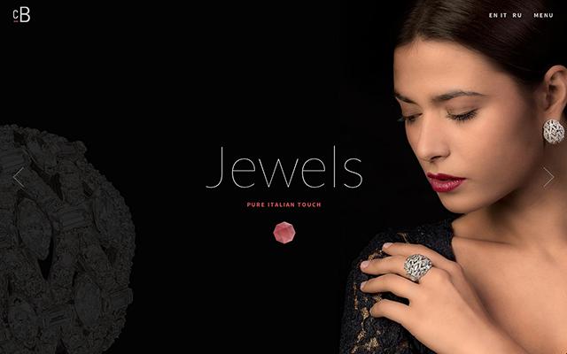 时尚的单页网页设计风格欣赏