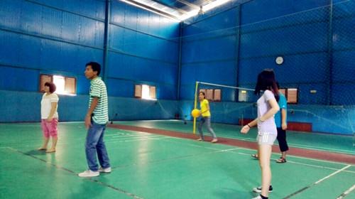 南宁凯发国际网址建设-团队活动-气排球比赛