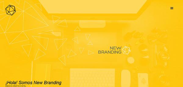 New Branding-橙黄色凯发国际网址设计案例