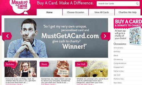 Must Get A Card-传导网络-粉色系网页设计