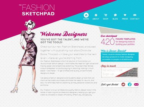 传导网络-粉色系网页设计作品