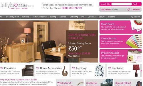 Totally Home-传导网络-粉色系网页设计