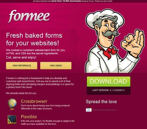 Formee-传导网络-粉色系网页设计