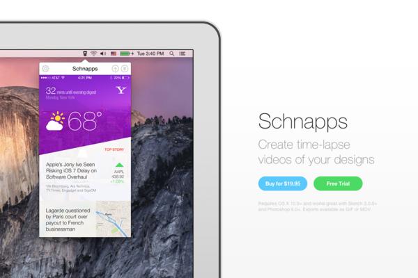 Schnapps-传导网络-APP设计案例