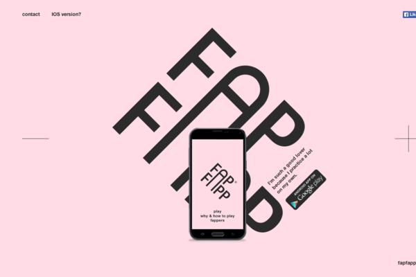 Fap Fapp-传导网络-扁平化风格设计