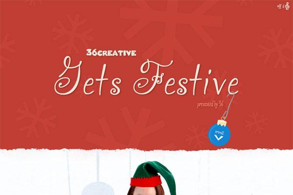 Happy Holidays form 36creative-传导网络