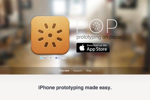 POP App-传导网络-APP设计案例